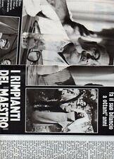 SP32 Clipping-Ritaglio 1980 I rimpianti del maestro Alessandro Blasetti