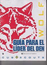 Boy Scouts Of America Wolf Den Leader Guide Spanish Guia Para El Lider Del Den