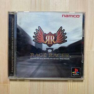 Sony PlayStation 1 namco Rage Racer SLPS 00600 NTSC-J (Japan)