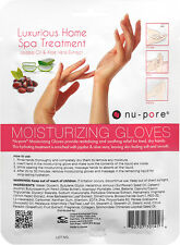 4 Pairs Nu-Pore Moisturizing Gloves are a luxurious spa treatment