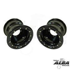 YFZ 450 YFZ 450R  Rear Wheels  Beadlock  10x8  3+5  4/115  Alba Racing  Blk blk