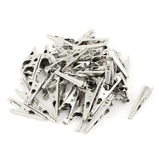 Metal insulated Test Lead Alligator Clips Crocodile Clamps 50pcs