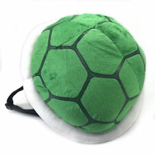 Super Mario Backpack Turtle Plush Shoulders Bag Green