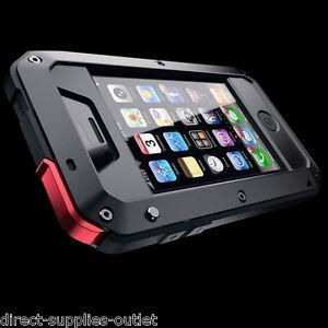 For Apple iPhone 5/ 5SE Waterproof Shockproof Aluminum Gorilla Metal Cover Case