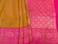 Banarasi Tussar Silk Saree  Border Partywear Wedding bridal