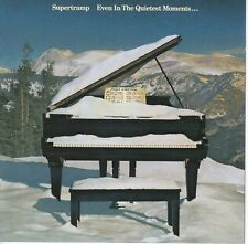 SUPERTRAMP Even in the Quietest Moments NM 2003 A&M Canada Cinram press remaster