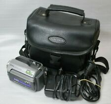 JVC Everio Camcorder GZ-MG145AA in Carry Case + Accessories Works Great
