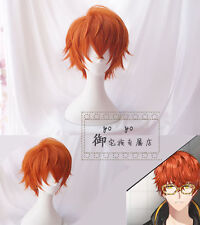 Game Mystic messenger 707 Luciel Choi Harajuku Cosplay Full Wig Short Hair Wig