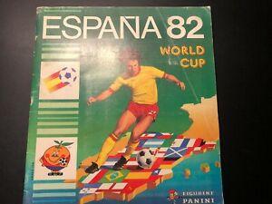 ALBUM ESPAÑA 82 WORLD CUP