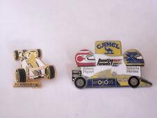 CAMEL 2 pins F1 - Renault - Benetton - Nelson Piquet