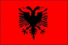BANDIERA ALBANIA cm. 100 X 140 grande FLAG