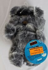 """Vintage Star Wars Plush 6"""" Wiley Ewok Doll C9 (With Tags)"""