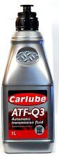 CARLUBE ATF-Q3 AUTOMATIC TRANSMISSION DEXRON III FLUID -1L