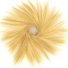 Crocchia Coda di cavallo chignon biondo chiaro dorato 21/lg26 peruk