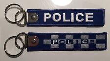 Police keyring, Law Enforcement, Flat Link,
