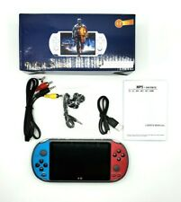 """🔥X12 Console 5.1"""" Handheld  Video Player Dual Rocker 8GB Built-in 3500 Games🔥"""
