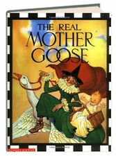 The Real Mother Goose (hc) by Blanche Fisher Wright - classic nursery rhymes NEW