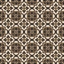 Wrapping Paper Black  & White Morocco On Natural Kraft Paper 50 Metre Roll