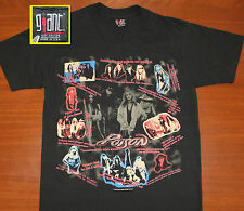 Poison band Bret Michaels vtg t-shirt M/L black 1993 Native Tongue World Tour
