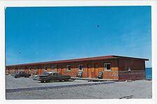 Vintage Postcard Anse Ste. Anne des Monts P.Q. Canada Manoir Sur Mer Motel Hotel