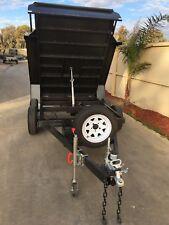 10x5 Tandem Hydraulic Tipper Trailer Rated @ 1990kg GVM