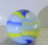 #12700m Nicely Color Vintage Marble King Shooter Marble .96 Inches