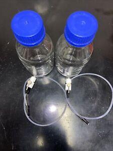 Boro 500 ml (2 Counts) Wash Bottles For CTC Analytics Autosampler