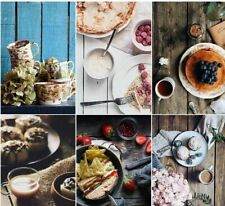 Photography Background Food Double Sided Decoration Camera PVC Paper Stretch