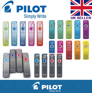 Pilot Neox High-Purity Graphite Pencil Lead - 03/0.5/0.7/0.9mm:H/HB/B/2B/3B/4B