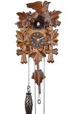 Reloj cucú Selva negra Black Forest,Recuerdo De Alemania,Madera pared,29cm