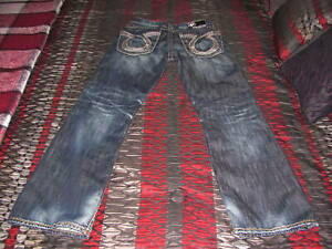 Men's Big Star Limited Vintage Collection Pioneer Boot Jeans Size 31R Denim EUC