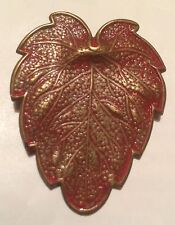 Copper Enamel Vintage Costume Brooches/Pins