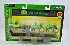 ERTL 1:64 MACK Semi-Truck & Trailer with JOHN DEERE 630 & 730 Tractor Load MOC