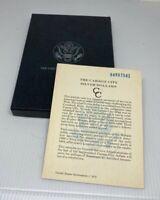 NO COIN OR BOX ORIGINAL 1884-CC SERIAL NUMBERED GSA COA CARD