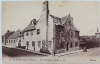 .ISLE OF WIGHT. RARE EARLY 1900s POSTCARD NEWPORT GRAMMAR SCHOOL NO 17 LL SERIES
