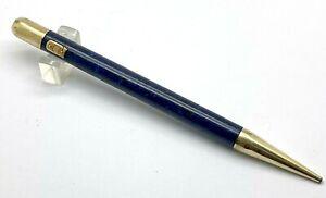 Antique Swan Lapisblue Long Size Pencil, USA (#S357)