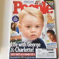 People Magazine George Clooney Paula Walker Memories May 25, 2015 052617nonrh