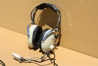 Gulf Coast Avionics GCA-4T Pilot Headset with Helicopter U-174/U Plug - Untested