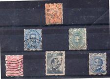 Italia Monarquias Valores del año 1879-906 (DL-235)