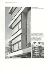 1961 Window Details Flats St James's Place Denys Lasdun