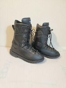 Cosmas Professional Black Firefighting Hercules V2 Size 10.5E Boots Used Lace up