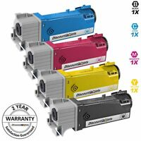 4 Pack BLACK & COLOR 106R01597 Toner Cartridge for Xerox Phaser 6500N 6500dn
