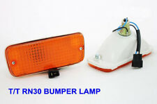 1Pair Toyota Pickup Rn30 Hilux N30 Front Bumper Lamp light 79 80 81 82 83 Amber