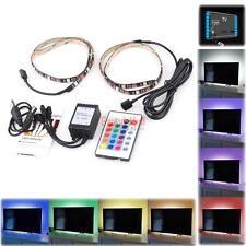 50CM RGB 9-Color LED Home Theater TV Back Light Lighting Strip USB Power Strips