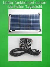 20 Watt Solarlüfter Solar Axial Lüfter Solarventilator Ventilator Gewächshaus