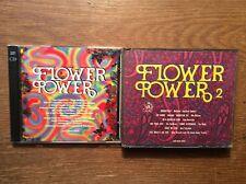 Flower Power 1 + 2 [4 CD] Kinks Redbones Aphrodite's Child Byrds Donovan Burdon