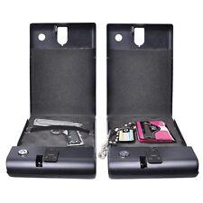 Biometric 120 Fingerprint Electronic Digital Car Gun Security Box Lock US Black