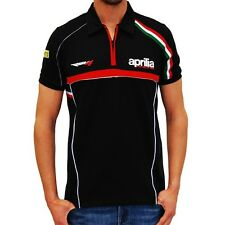"New Official Aprilia Racing Team World Superbike Polo - Small - 36"" Chest"