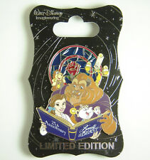 Disney Pin WDI Beauty and the Beast 25th Anniversary Blue Book LE 250 OC Rare