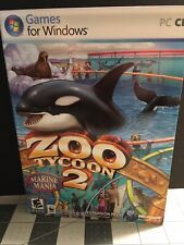 Zoo Tycoon 2 Marine Mania Expansion Microsoft Game Studios PC Complete 2006